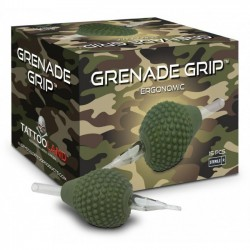 BOX GRENADE GRIP CRYSTAL MONOUSO FLAT - 38MM
