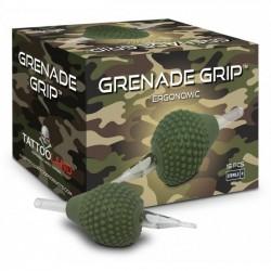 BOX GRENADE GRIP CRYSTAL MONOUSO FLAT - 38MM